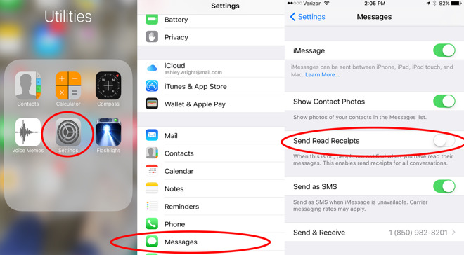 iOS 10 tips: How to turn on/off individual read receipts in ...