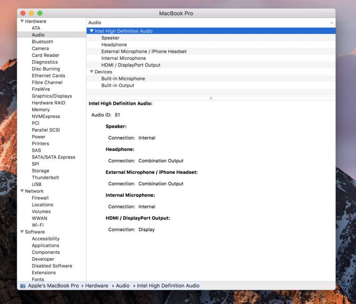 how to fix headphone jack on macbook pro
