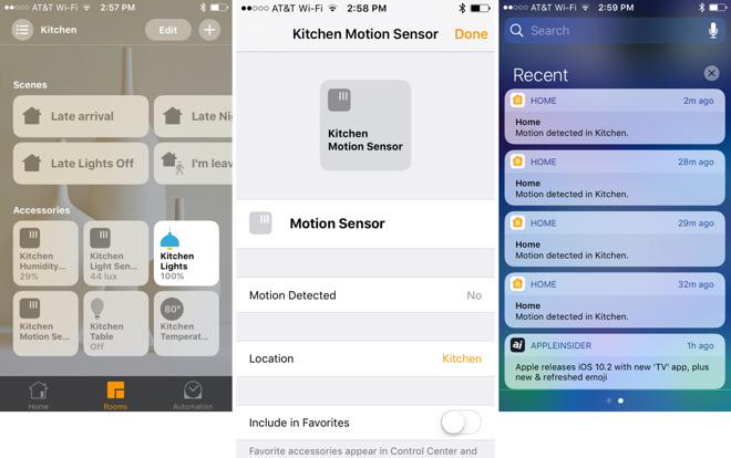iOS 10.2 přinesl nové funkce pro Apple HomeKit