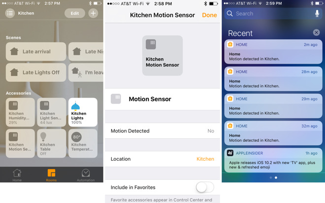 New Apple HomeKit Platform,Users Could Receive Instant Alerts