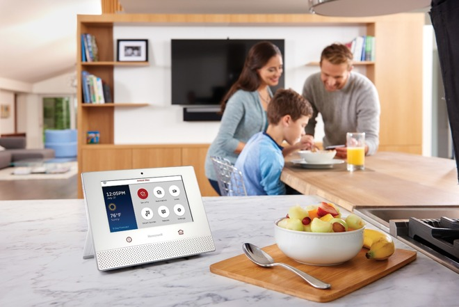 honeywell embraces apple homekit with lyric home security and control system. Black Bedroom Furniture Sets. Home Design Ideas