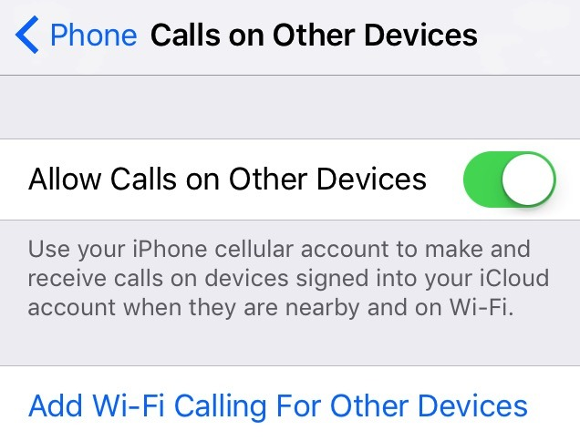 iOS 10.3 beta enables calls on iCloud-connected devices for Verizon customers