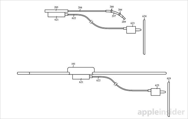 Apple si chce patentovat nabíjecí řemínek pro Apple Watch