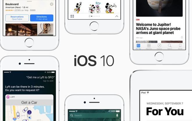 Apple vydal iOS 10.3, macOS 10.12.4, watchOS 3.2, tvOS 10.2 a další aktualizace