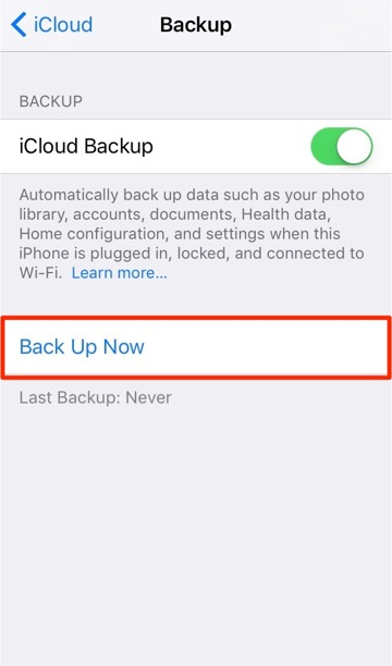 how to change where itunes backs up iphone