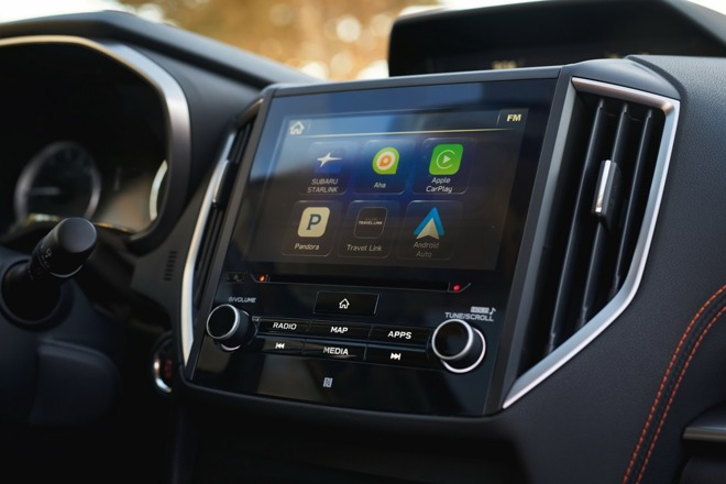 Subaru Preps 2018 Crosstrek Suv With Support For Apple Carplay