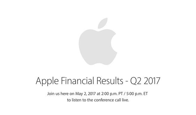 Apple oznámí finanční výsledky za 2. fiskální čtvrtletí 2. května