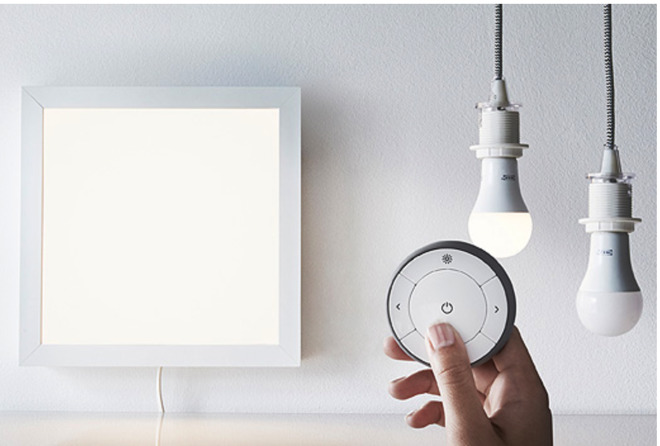ikea launches iphone connected smart home bulbs sensors but no apple homekit support. Black Bedroom Furniture Sets. Home Design Ideas