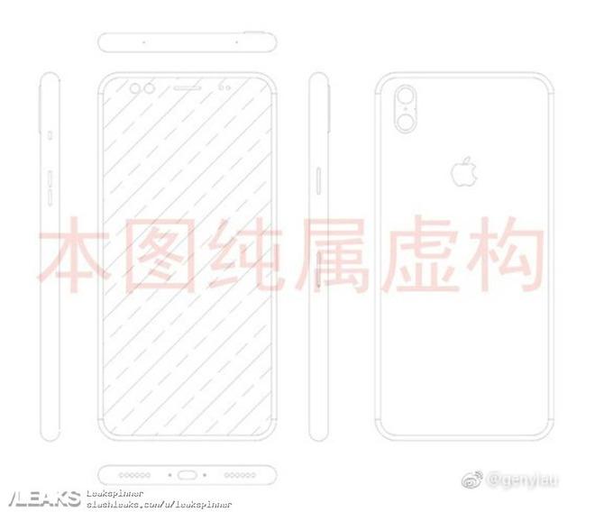 Toto není schéma iPhonu 8